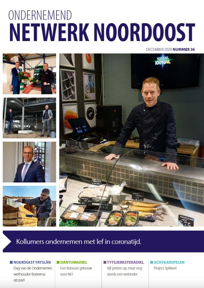 Ondernemend Netwerk Noordoost magazine 4-2020