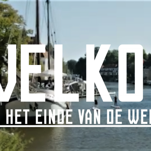 Welkom aan het einde van de wereld: toeristische campagne Noordoost-Friesland