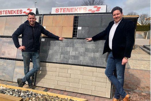 Bezoek wethouder Kempenaar aan Stenekes Steenhandel