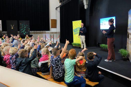 Kinderen uit Noordoost-Friesland genieten mee van Wadopera